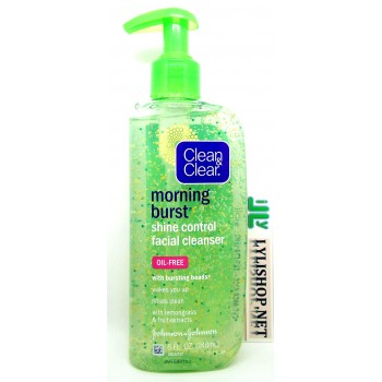Gel rửa mặt CLEAN & CLEAR Morning Burst Shine Control Facial Cleanser 240ml từ Mỹ